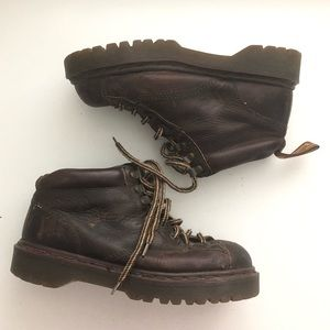 Dr Martin Original Brown Leather Ankle Boot UK 6